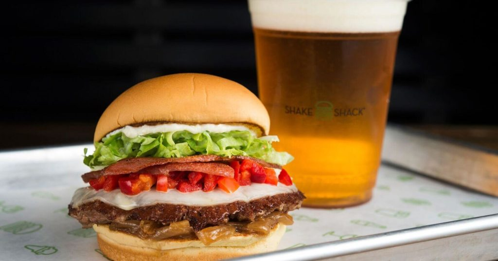 Shake Shack serves 100% all-natural Angus Beef burgers with all the trimmings and refreshing craft beer at ICON Orlando 360